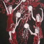 76 Tarantella dansers